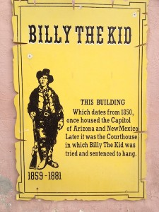 Billy the Kid tried and hanged