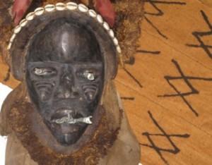 Voodoo-magic-altar