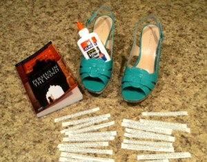 Everything you need to make Story Shoes