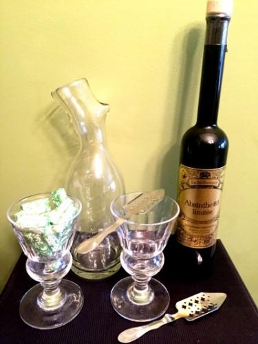 service a absinthe