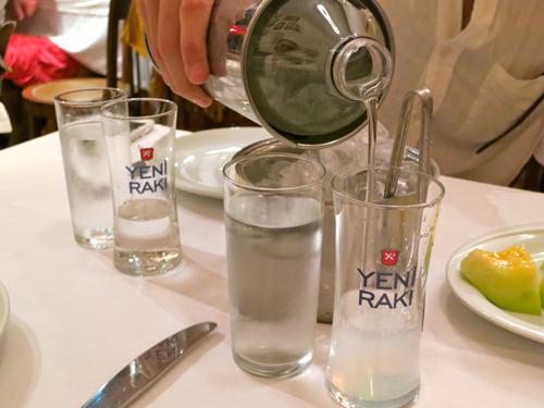 Sipping Raki in Istanbul, Turkey