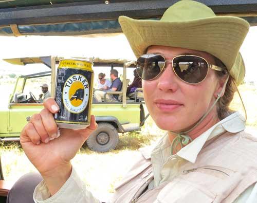 Kenya's tusker beer