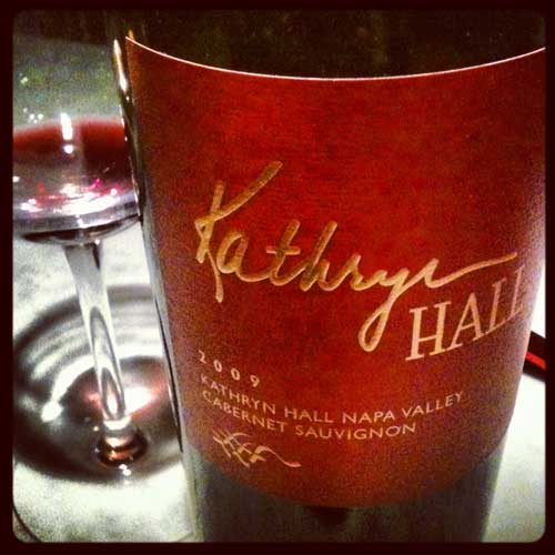 Kathyrn Hall Cabernet Sauvignon 2009 is Here!