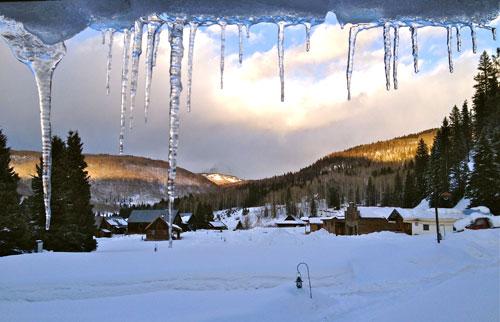 Dunton Hot Springs Winter
