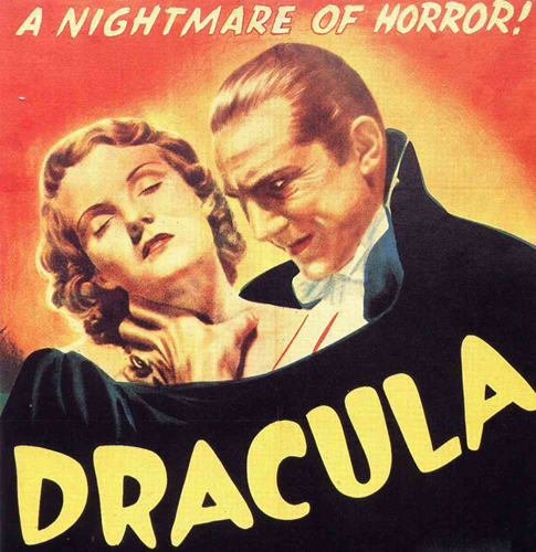 Universal Pictures' movie poster of 1931 Dracula film