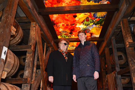 Dale Chihuly and Makers Mark COO Rob Samuels