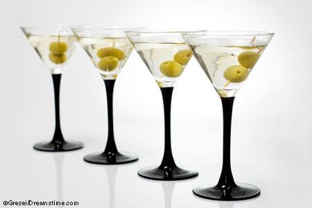 Four martinis