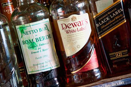 Rom Berde bottle