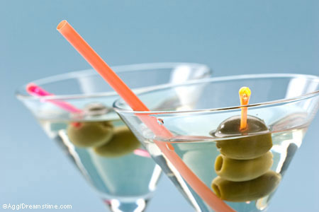 Martinis and olives