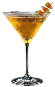Candy Corntini cocktail