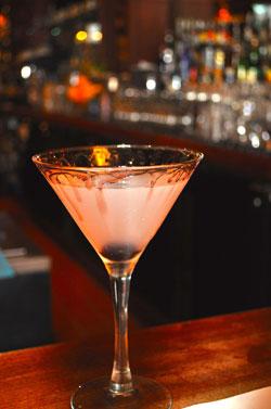 Bloody Aviator cocktail