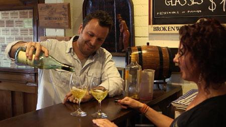 Zane Lamprey Sydney winery
