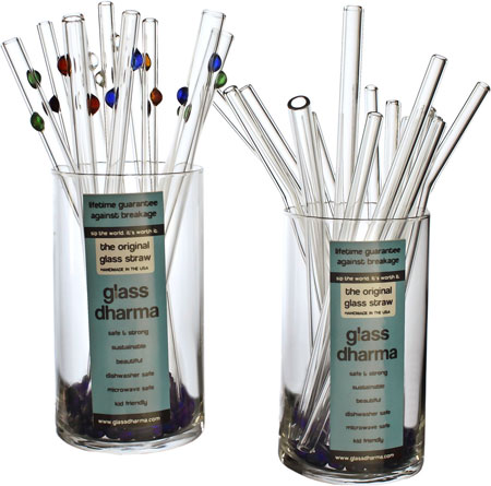 GlassDharma glass straws