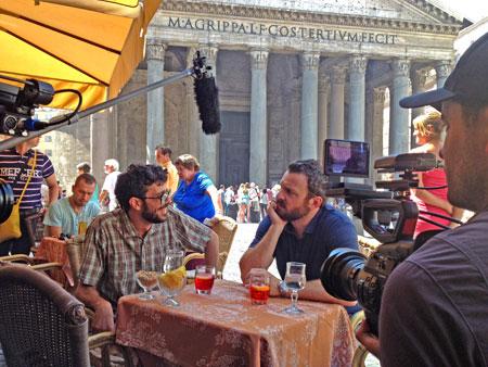Zane Lamprey in Rome