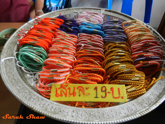 Thai Colors of the Day Bracelets