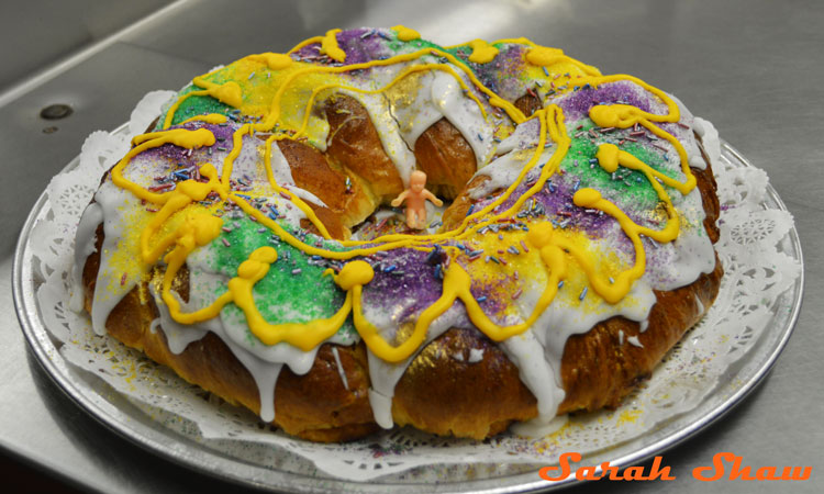 King Cake is a Mardi Gras tradition