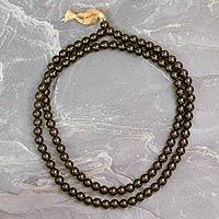 Smoky Quartz Prayer Beads