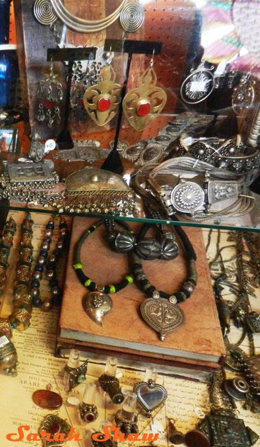 Global jewlery at Cargo in Portland, Oregon
