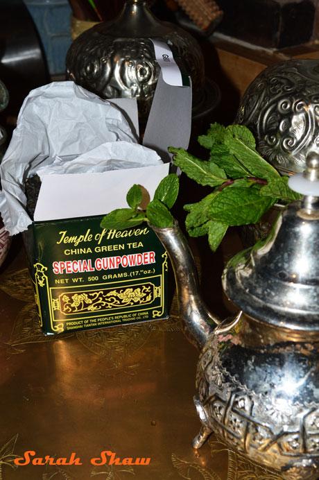 Moroccans use Chinese Gunpowder Green Tea
