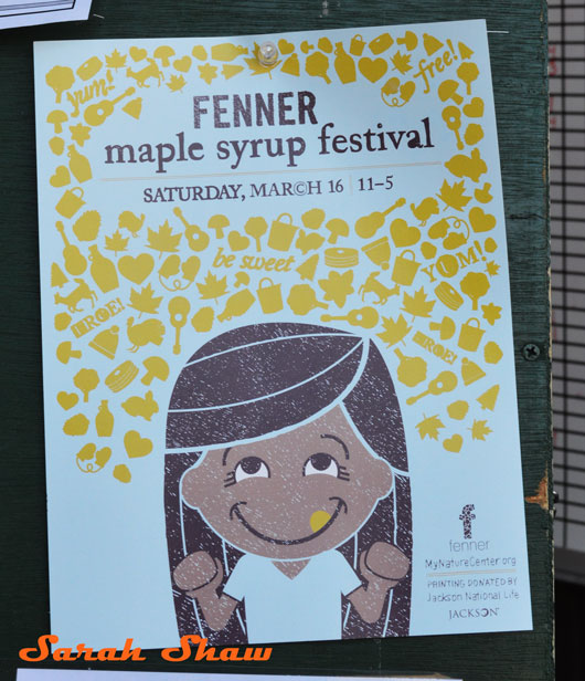 Fenner Maple Syrup Festival poster