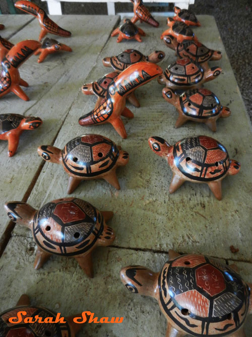 Turtle whistles from Guatil, Costa Rica