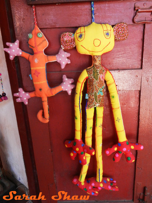 Akha Creatures for sale at Naga Creations in Luang Prabang, Laos