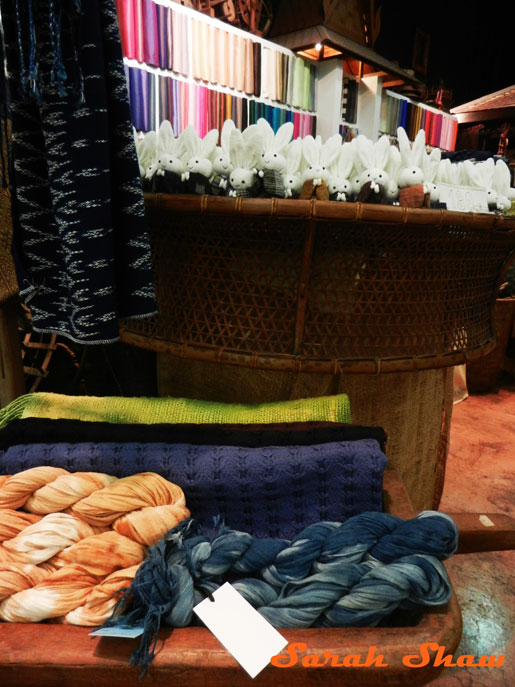 Indigos and Ikats at Indigo House, Bangkok, Thailand