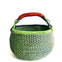The Loaded Trunk offers beautiful Bolga Market Baskets from Ghana