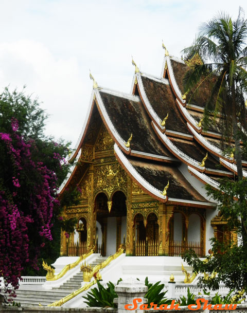 Haw Kham Temple in Royal Palace Complex, Luang Prabang, Laos