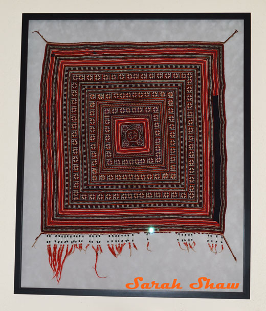 A vintage tribal wedding scarf from Vietnam