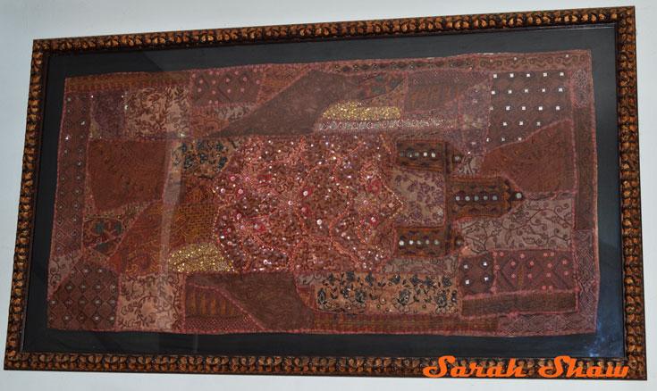 Custom frames Indian patchwork