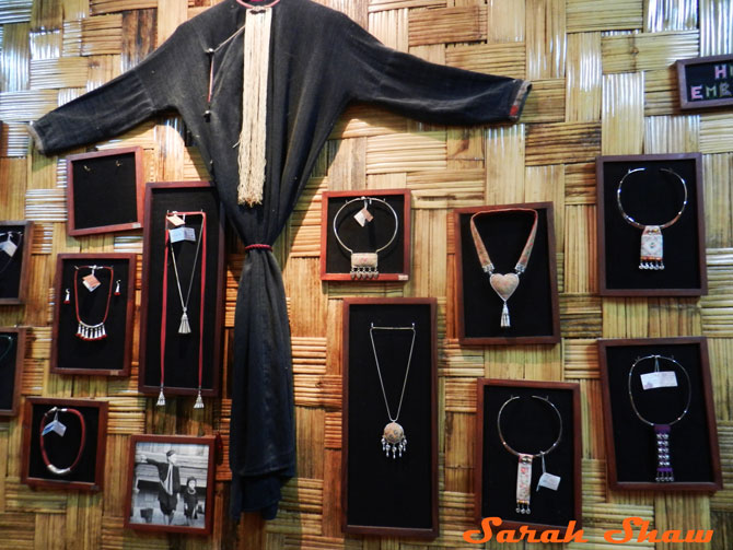 Hill Tribe traditions inform jewelry designs at Naga Creations in Luang Prabang, Laos