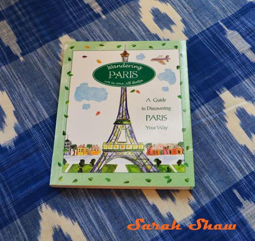 Wandering Paris book