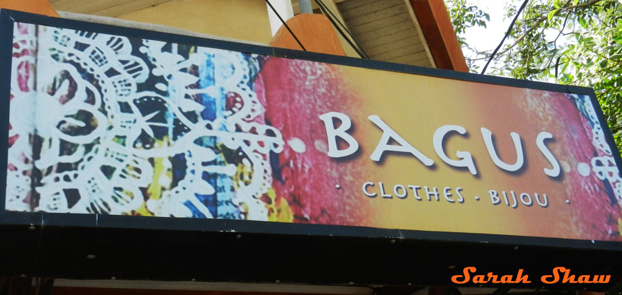 Bagus boutiwue in Tamarindo, Costa Rice