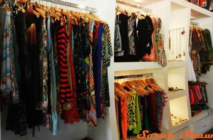 Clothing offered at Bagus, in Tamarindo, Costa Rica