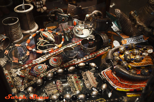 Tribal jewelry from around the world found at Courage My Love, Toronto