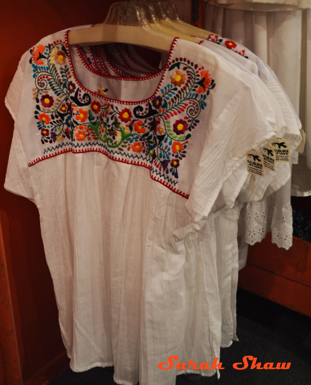 Embroidered Mexican blouses from Courage My Love in Toronto