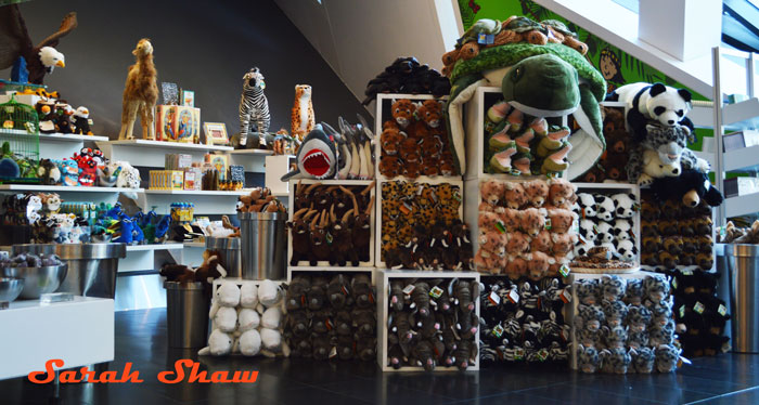 A large selection of items for children are offered in the Royal Ontario Museum Store