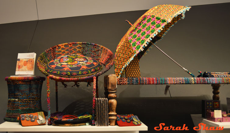 Colorful designs from India are offered ar the ROM Museum Store in Toronto