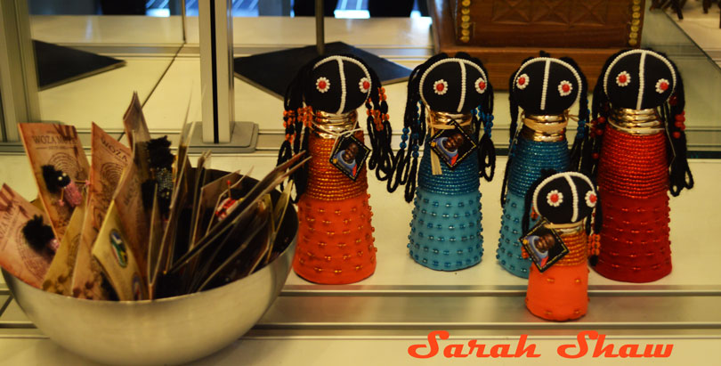 Rasta dolls would make a colorful accent to your home from the ROM Museum Store