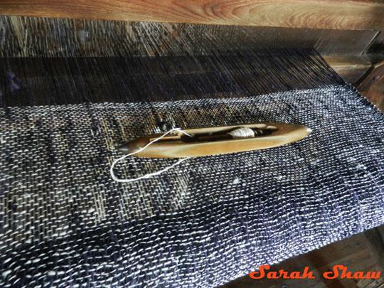 Shuttle used for weaving at Khit Sunn Yin, Inle Lake, Myanmar