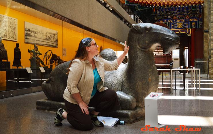 WanderLit tours the Royal Ontario Museum in Toronto with me