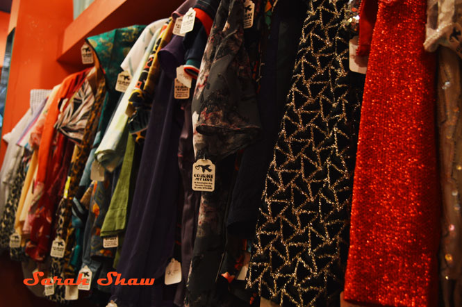 Vintage clothing from Courage My Love in Toronto, Canada