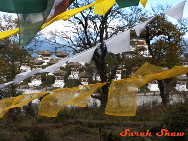 108 Chortens at Dochula Pass