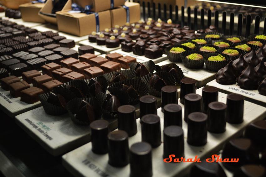 Chocolates and caramels