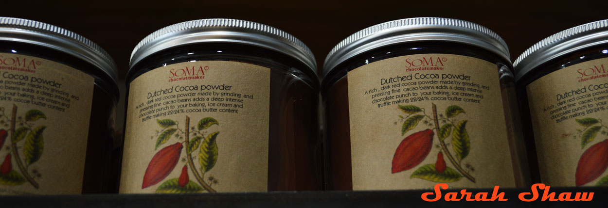 Dutched Cocoa Powder from Soma of Toronto Canada