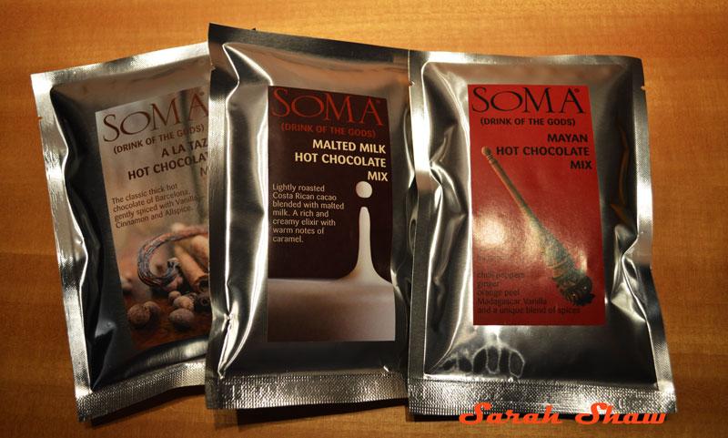Elixirs Hot Chocolate blends