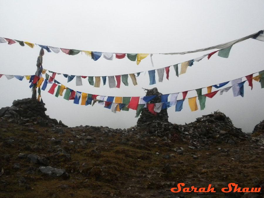 Pass near Sakten in Eastern Bhutan