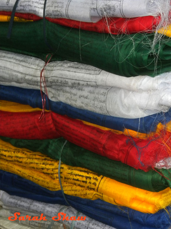 Bolts of Prayer Flags