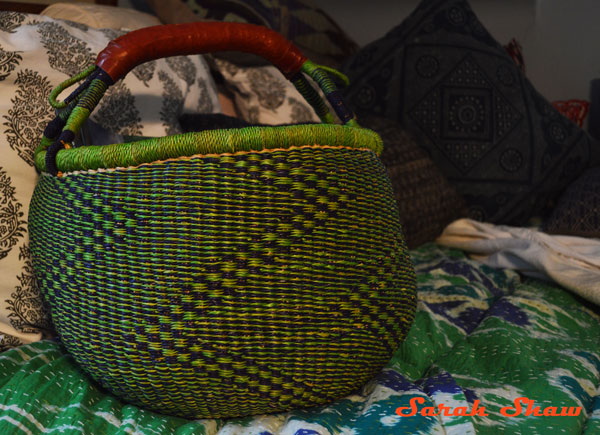 Market basket from Ghana